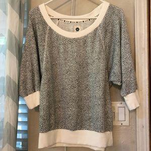 Roxy leopard print top